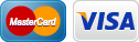 visa and mastercard icons
